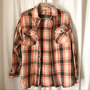 Duluth Trading Co. Flannel Shacket sz Large